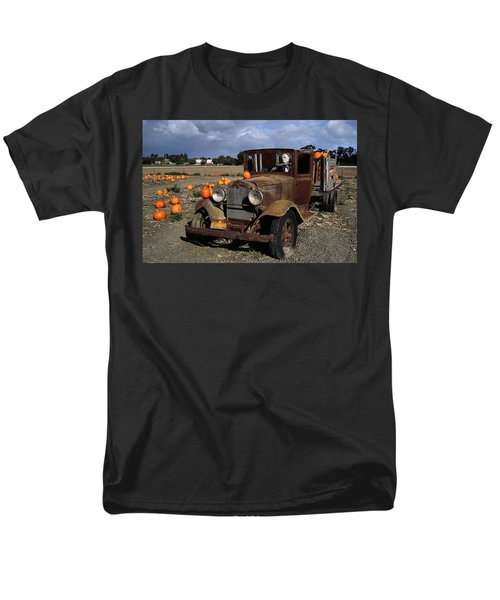 Men's T-Shirt  (Regular Fit) featuring the photograph Old Farm Truck by Michael Gordon