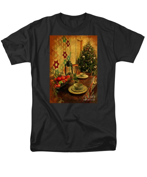 Men's T-Shirt  (Regular Fit) featuring the photograph Old Fashion Christmas At Atalaya by Kathy Baccari