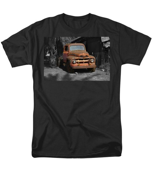 Old Ford Truck Men's T-Shirt  (Regular Fit) by Richard J Cassato