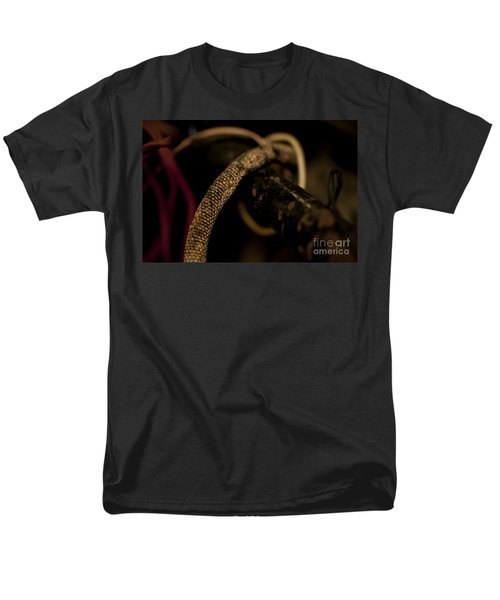 Old Frayed Wires Men's T-Shirt  (Regular Fit) by Wilma  Birdwell