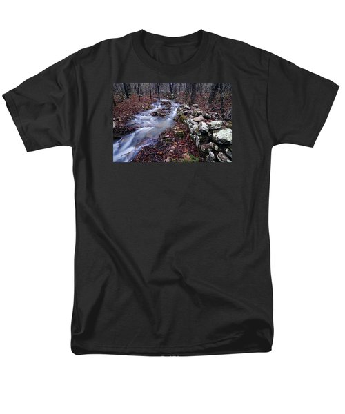 Men's T-Shirt  (Regular Fit) featuring the photograph Old Homestead by Andy Crawford