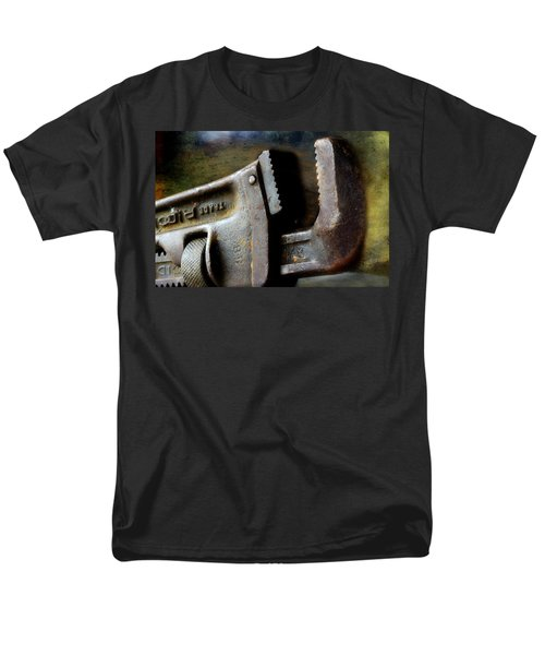 Old Pipe Wrench Men's T-Shirt  (Regular Fit) by Michael Eingle