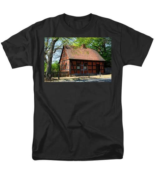 Old Salem Scene 3 Men's T-Shirt  (Regular Fit) by Kathryn Meyer