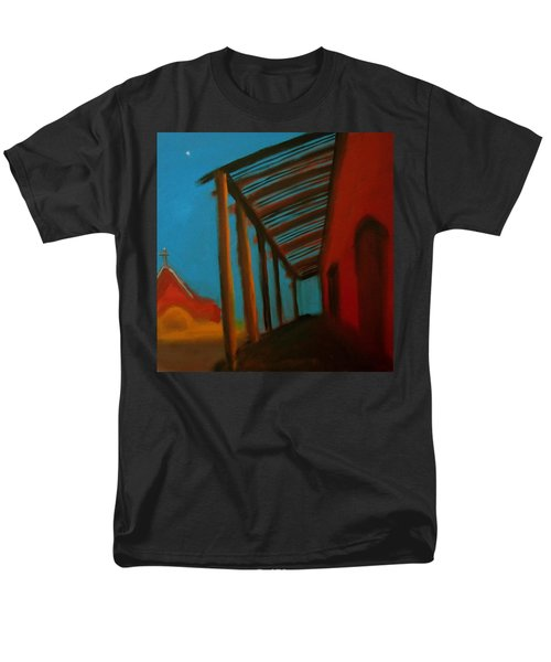 Men's T-Shirt  (Regular Fit) featuring the painting Old Town by Keith Thue