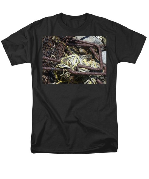 Men's T-Shirt  (Regular Fit) featuring the photograph Old Trap  by Minnie Lippiatt
