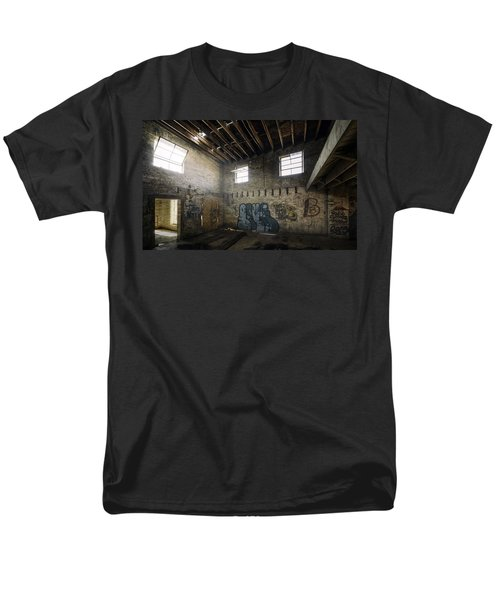 Old Warehouse Interior Men's T-Shirt  (Regular Fit) by Scott Norris