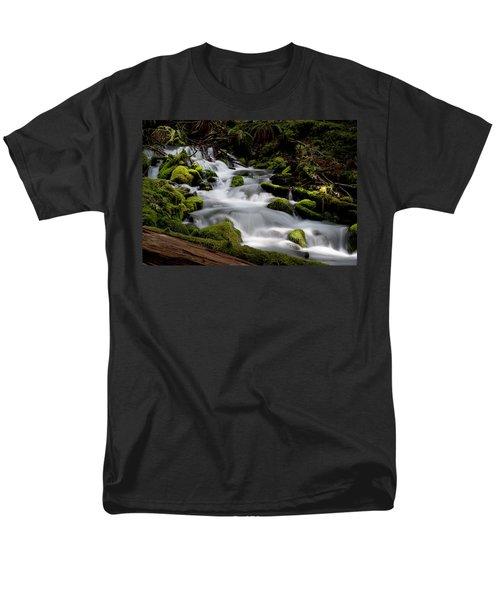 Olympic Spring Men's T-Shirt  (Regular Fit) by Art Shimamura