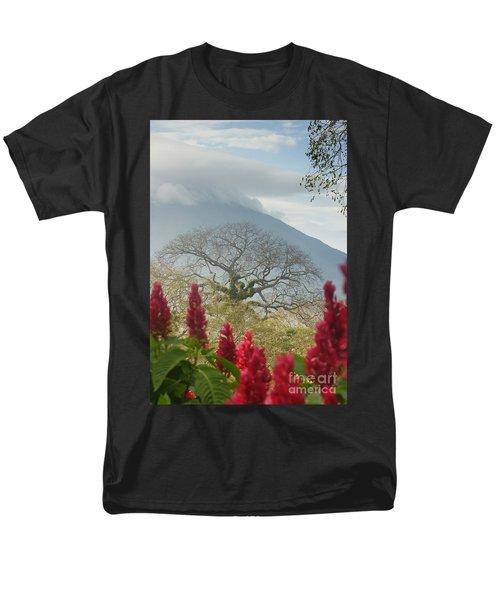 Men's T-Shirt  (Regular Fit) featuring the photograph Ometepe Island 1 by Rudi Prott