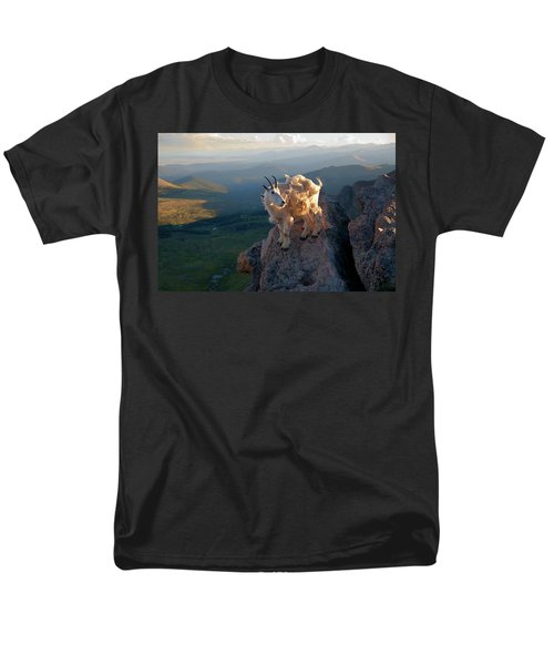 Men's T-Shirt  (Regular Fit) featuring the photograph On A Clear Day by Jim Garrison