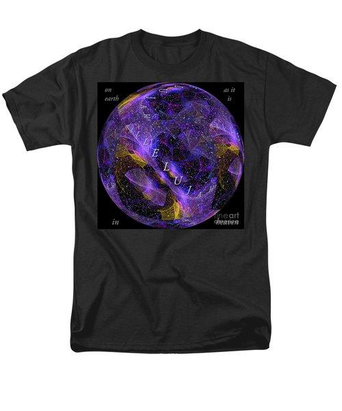 On Earth As It Is In Heaven Men's T-Shirt  (Regular Fit) by Margie Chapman