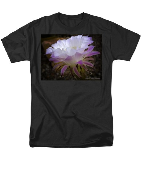 Men's T-Shirt  (Regular Fit) featuring the photograph On The Edge by Lucinda Walter