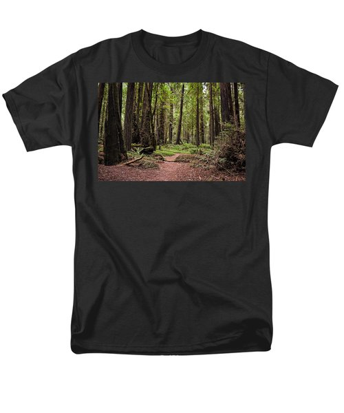 On The Enchanted Path Men's T-Shirt  (Regular Fit) by Michelle Calkins