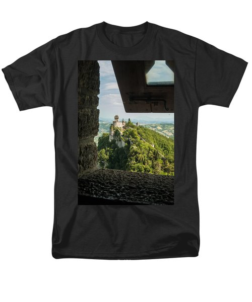 On The Inside Men's T-Shirt  (Regular Fit) by Alex Lapidus
