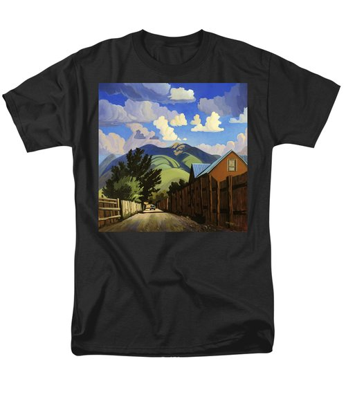 Men's T-Shirt  (Regular Fit) featuring the painting On The Road To Lili's by Art James West