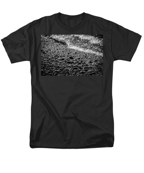 On The Rocks At French Beach Men's T-Shirt  (Regular Fit) by Roxy Hurtubise