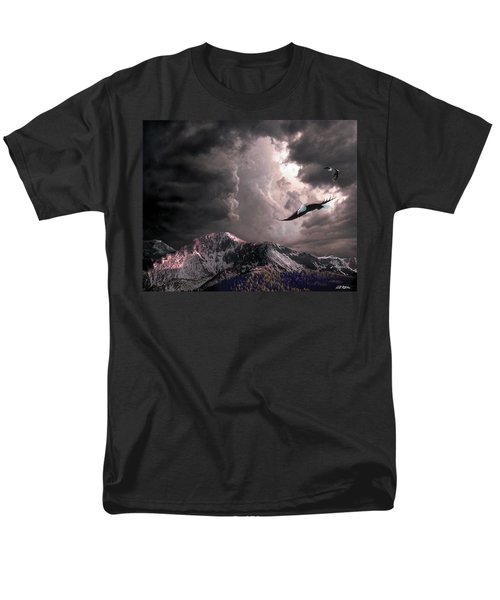 On Wings Of Eagles Men's T-Shirt  (Regular Fit) by Bill Stephens