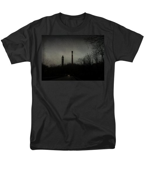 Men's T-Shirt  (Regular Fit) featuring the photograph Oncoming by Cynthia Lassiter