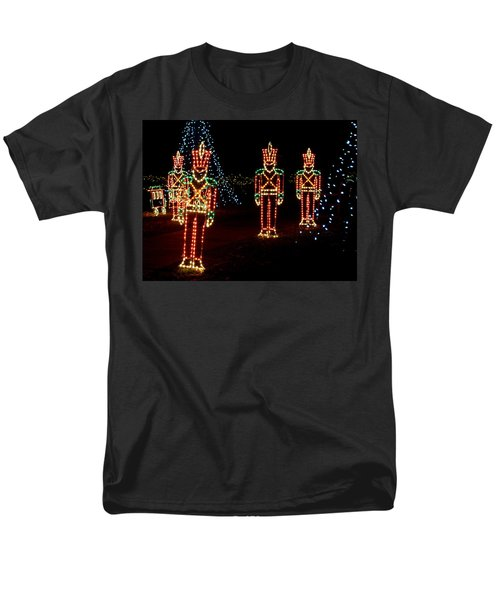 One Crooked Toy Soldier Men's T-Shirt  (Regular Fit) by Rodney Lee Williams