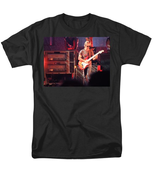 Men's T-Shirt  (Regular Fit) featuring the photograph One Of The Greatest Guitar Player Ever by Aaron Martens