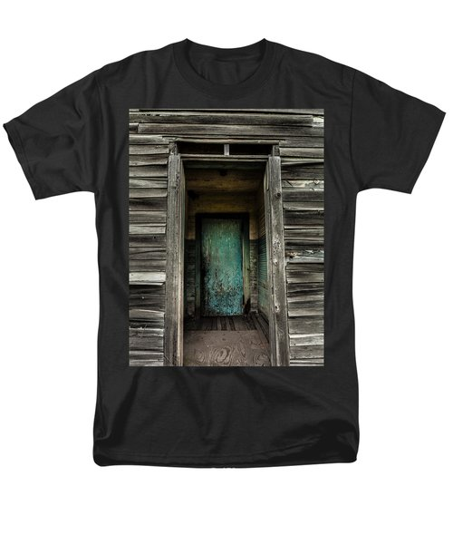 One Room Schoolhouse Door - Damascus - Pennsylvania Men's T-Shirt  (Regular Fit)