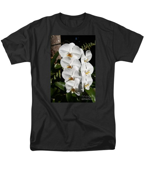 Orchids Anna Men's T-Shirt  (Regular Fit) by The Art of Alice Terrill
