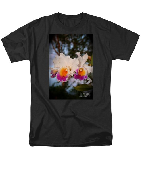 Men's T-Shirt  (Regular Fit) featuring the photograph Orchid Elsie Sloan by The Art of Alice Terrill