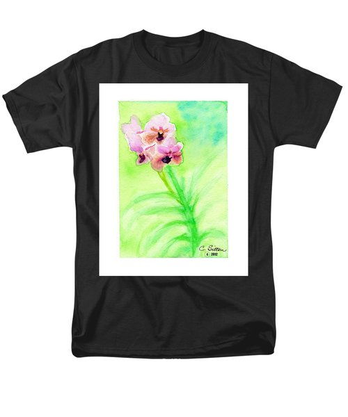 Orchids Men's T-Shirt  (Regular Fit) by C Sitton