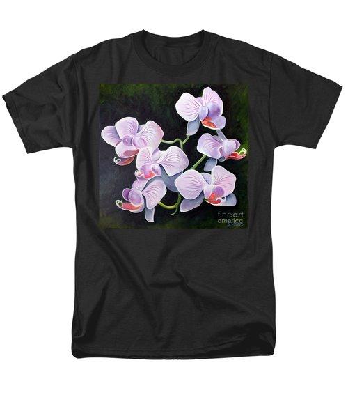 Orchids II Men's T-Shirt  (Regular Fit) by Debbie Hart