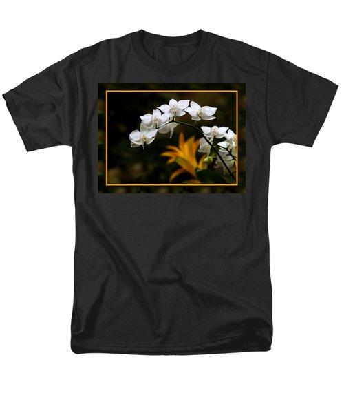 Men's T-Shirt  (Regular Fit) featuring the photograph Orchids by John Freidenberg