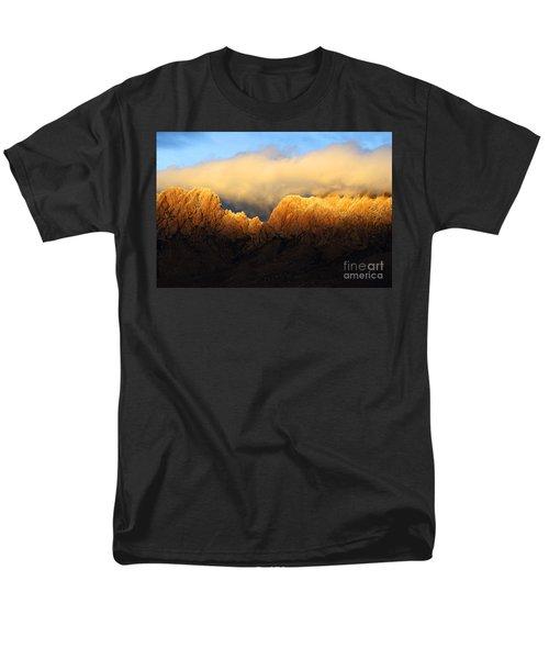 Organ Mountains Symphony Of Light Men's T-Shirt  (Regular Fit) by Bob Christopher