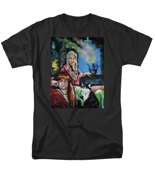Oriental Fairy Tale. First Part Men's T-Shirt  (Regular Fit) by Anna  Duyunova