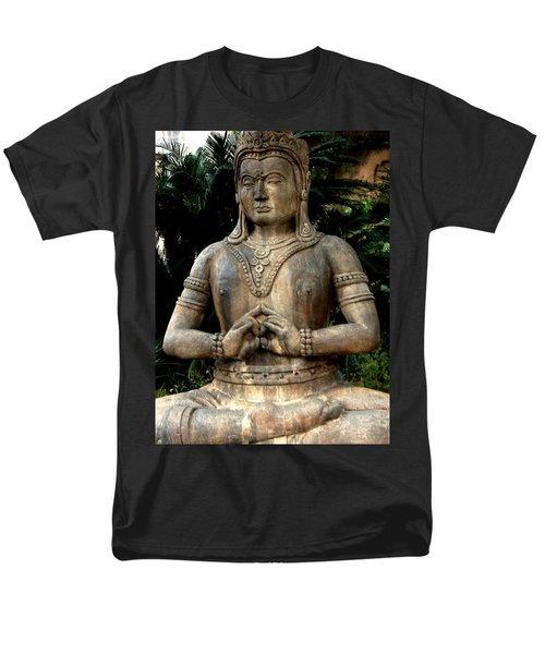 Oriental Statue Men's T-Shirt  (Regular Fit)