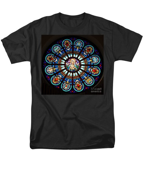 Our Blessed Mother Men's T-Shirt  (Regular Fit) by Debby Pueschel