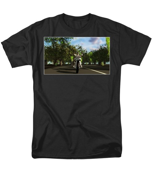 Men's T-Shirt  (Regular Fit) featuring the digital art Out For A Ride... by Tim Fillingim