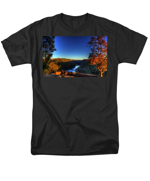 Men's T-Shirt  (Regular Fit) featuring the photograph Overlook In The Fall by Jonny D