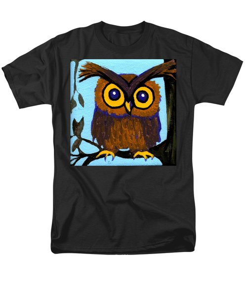 Owlette Men's T-Shirt  (Regular Fit) by Genevieve Esson