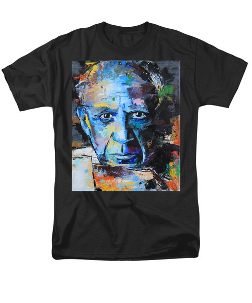 Pablo Picasso Men's T-Shirt  (Regular Fit) by Richard Day