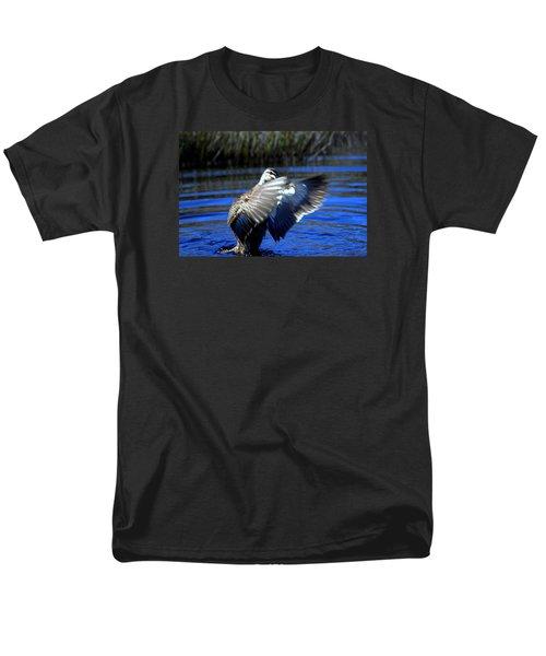 Men's T-Shirt  (Regular Fit) featuring the photograph Pacific Black Duck by Miroslava Jurcik