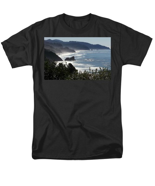 Pacific Mist Men's T-Shirt  (Regular Fit) by Karen Wiles