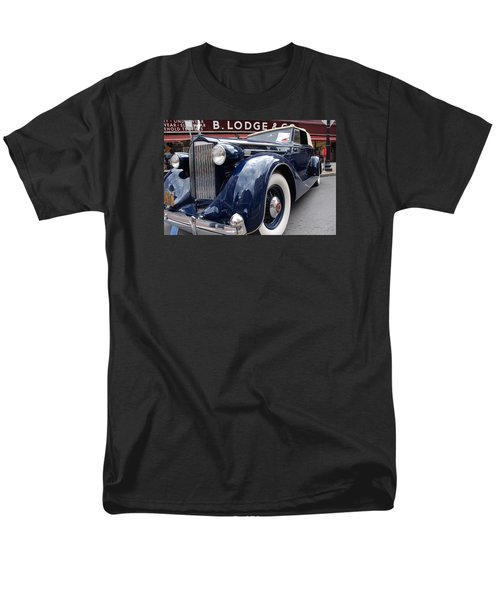 Men's T-Shirt  (Regular Fit) featuring the photograph Packard 1207 Convertible 1935 by John Schneider