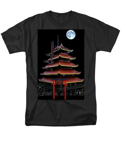 Pagoda Men's T-Shirt  (Regular Fit) by DJ Florek