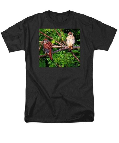 Caribbean Falcons Men's T-Shirt  (Regular Fit) by The Art of Alice Terrill