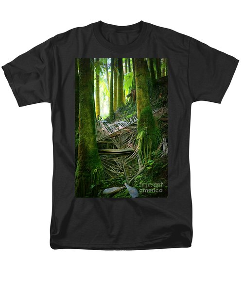 Men's T-Shirt  (Regular Fit) featuring the photograph Palm Forest by Ellen Cotton