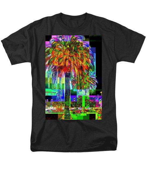Palm Tree Men's T-Shirt  (Regular Fit) by Jodie Marie Anne Richardson Traugott          aka jm-ART