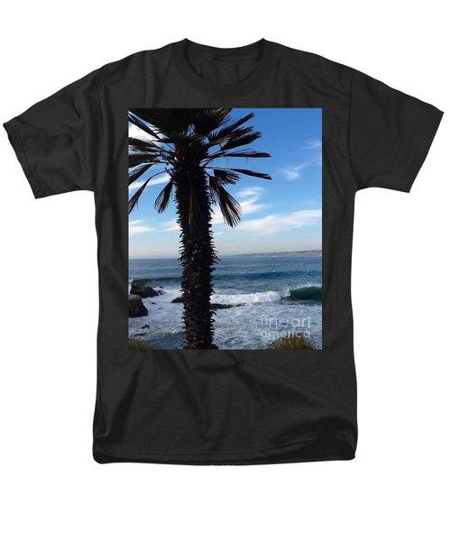 Men's T-Shirt  (Regular Fit) featuring the photograph Palm Waves by Susan Garren