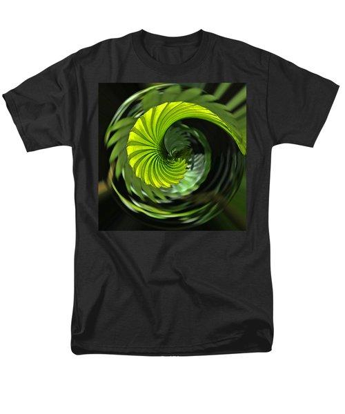 Palmetto Nautilus Men's T-Shirt  (Regular Fit) by Gary Holmes