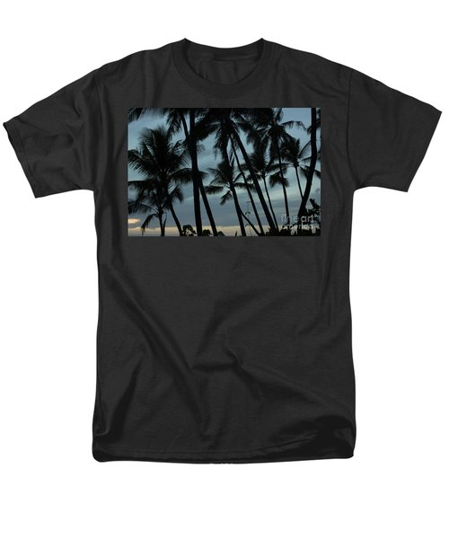 Palms At Dusk Men's T-Shirt  (Regular Fit) by Suzanne Luft