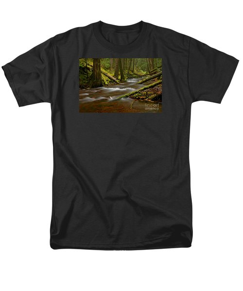 Panther Creek Landscape Men's T-Shirt  (Regular Fit) by Nick  Boren