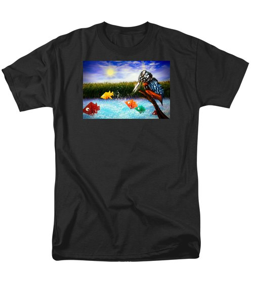 Paper Dreams Men's T-Shirt  (Regular Fit) by Alessandro Della Pietra
