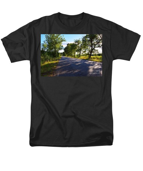 Men's T-Shirt  (Regular Fit) featuring the photograph Paradise Road by Ramona Matei